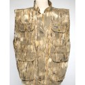 Gilet chasse reporter Grass Land avec polaire