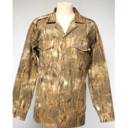 Chemise chasse aventure airsoft manches longues paille